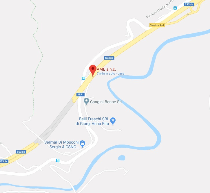 Mappa Ame snc